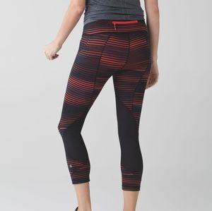 Lululemon Pace Rival Crop Leggings Media Pocket 6
